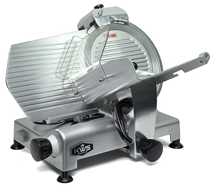 KWS MS-12N Meat Slicer with Stainless Steel Blade Review