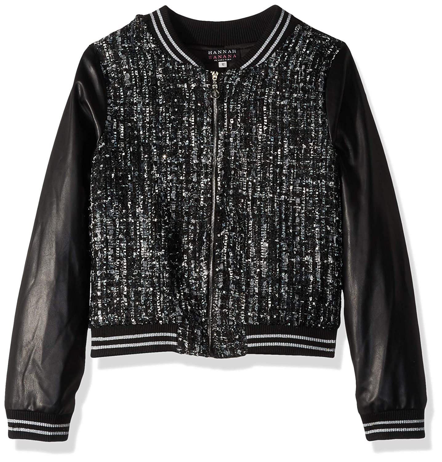 Black//White 12 Truly Me Girls Big Outerwear Bomber Jackets