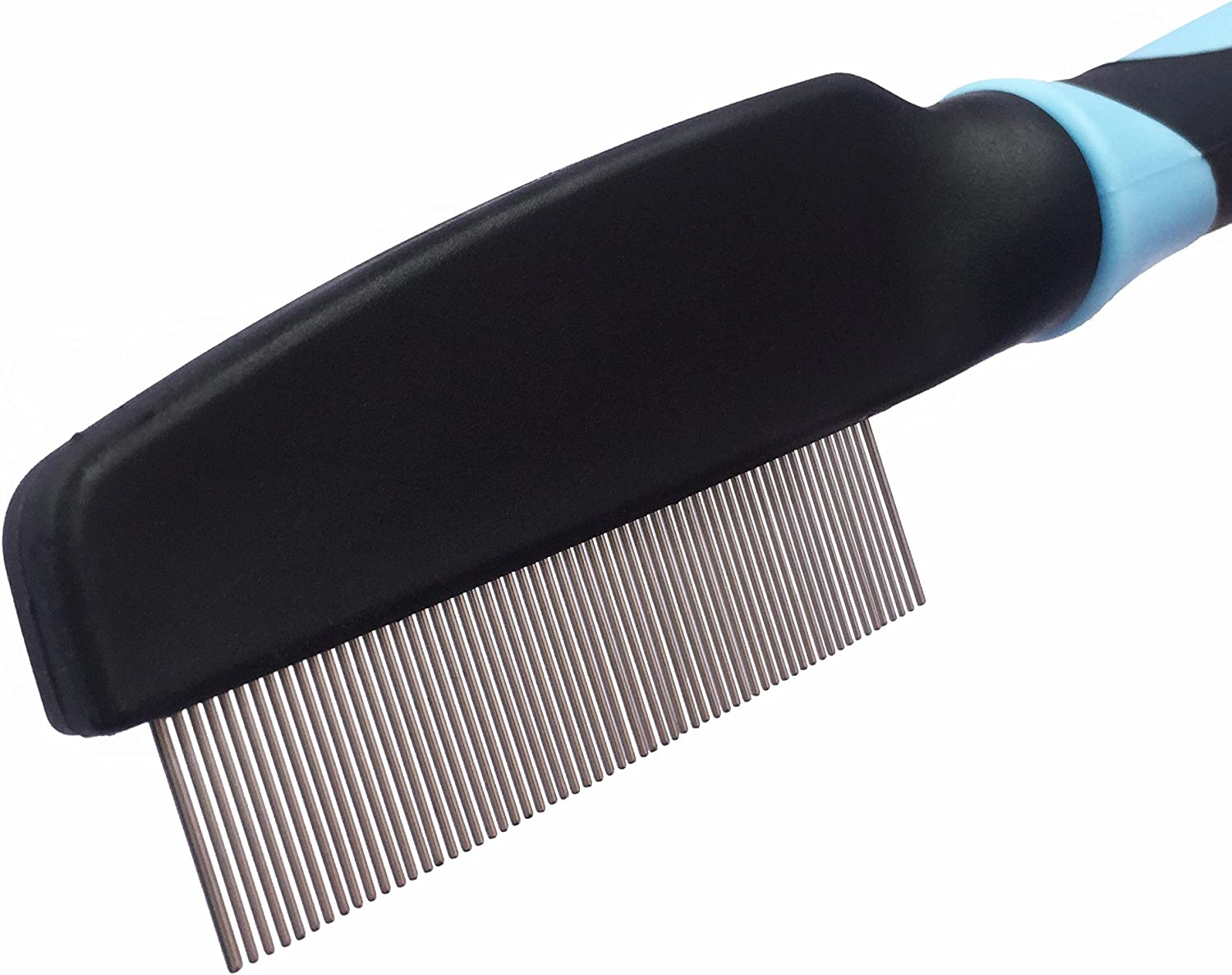 Professional Comb For Dogs and Cats /Effective against Fleas /& Lice Lice /& Dust Comb/ Flea Comb Nit Comb For Pets From VOYAGE