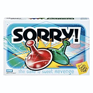 Sorry Board Game, Game Night, Ages 6 and up (Amazon Exclusive)