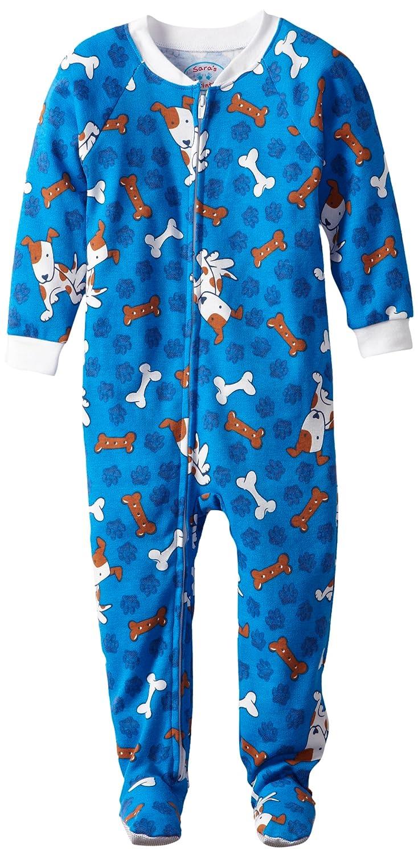 Saras Prints Boys Footed Pajama Sara/'s Prints Kids Sleepwear 2330c