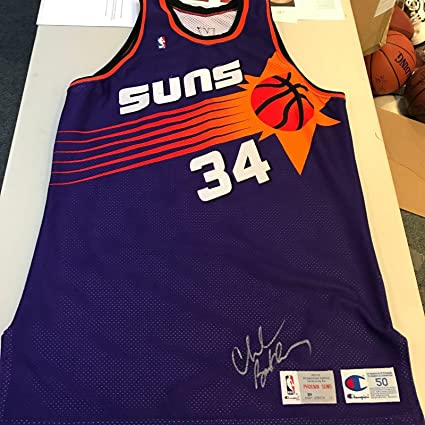 best sneakers b100f b02a7 One Of The Finest 1992-93 Charles Barkley Game Used Signed ...