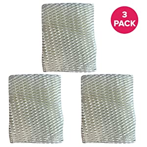 Think Crucial 3 Replacements for Graco 1.5 Gallon Humidifier Filter Fits 2H00 & TrueAir 05510, Compatible With Part # 2H01