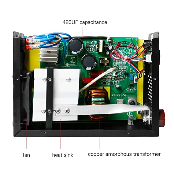 Amazon.com: Welder Inverter Arc 220V 20-200A IGBT Portable Arc Welding Equipment Kit Arc Welding Accessories Kit Support 3/50-1/8inch Welding Rod (ARC200): ...