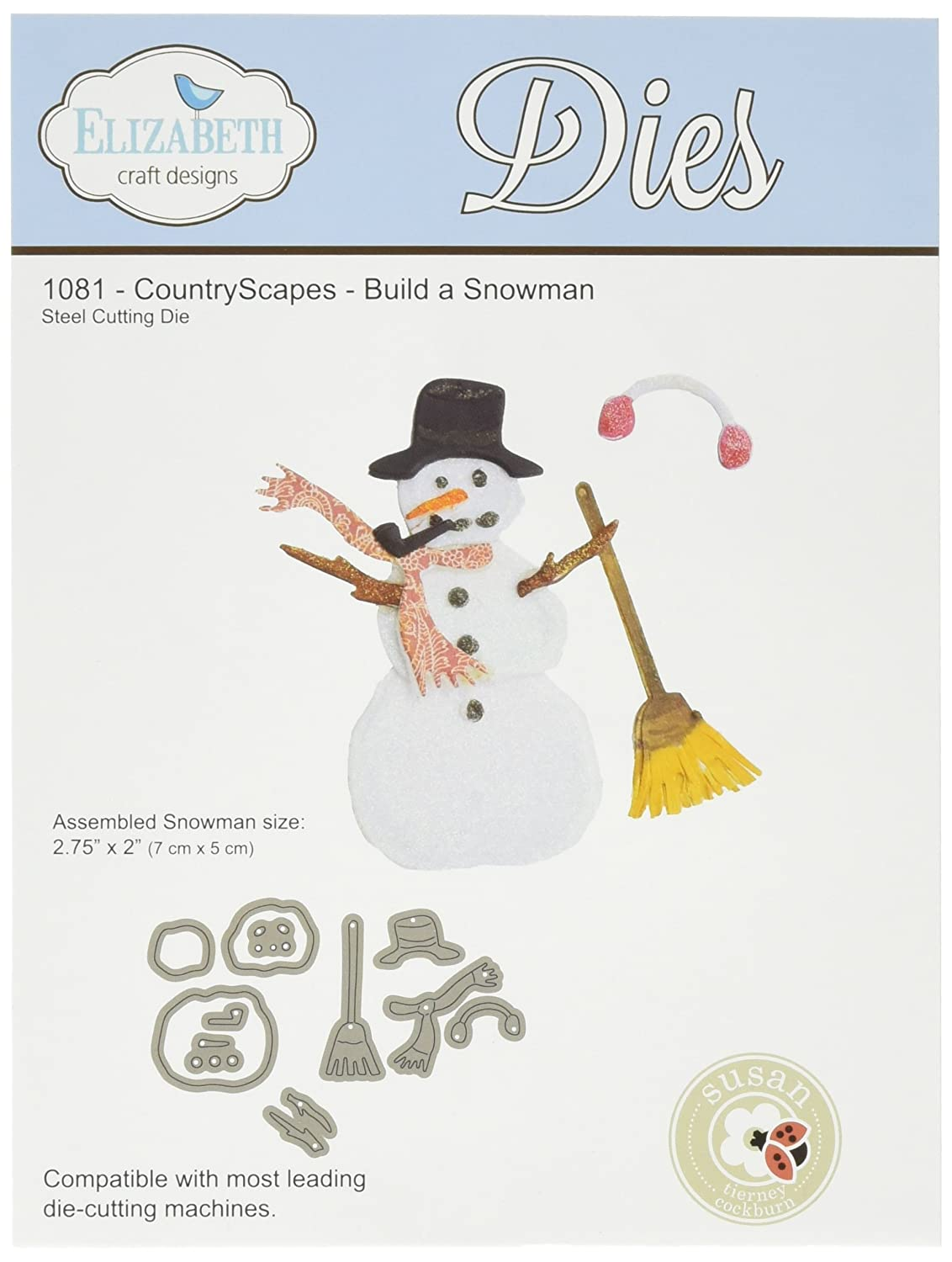 Snowman Cutting Dies Page Two