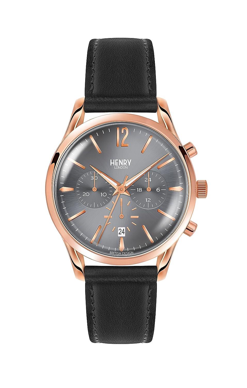 Henry London Reloj de Pulsera HL39-CS-0122: Henry London: Amazon ...