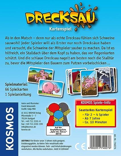 KOSMOS 740276 - Juego de Tablero (Multi, 9,5 cm, 12,2 cm, 2,1 cm): Bebenroth, Frank: Amazon.es: Juguetes y juegos