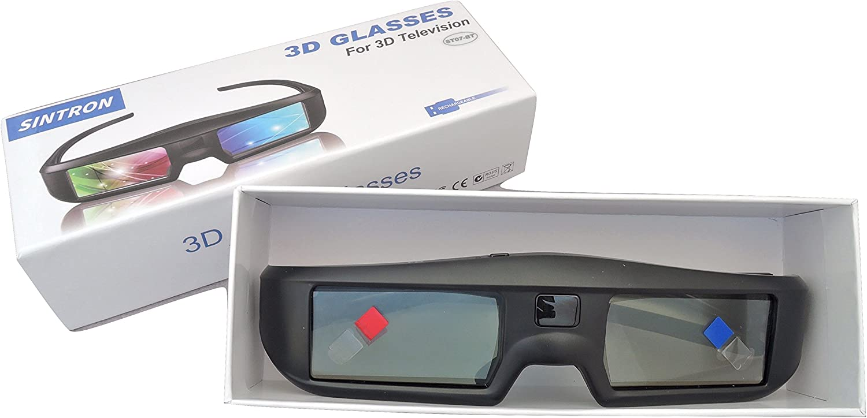 Sintron 3D Active Shutter Glasses Rechargeable ST07-BT For RF ...