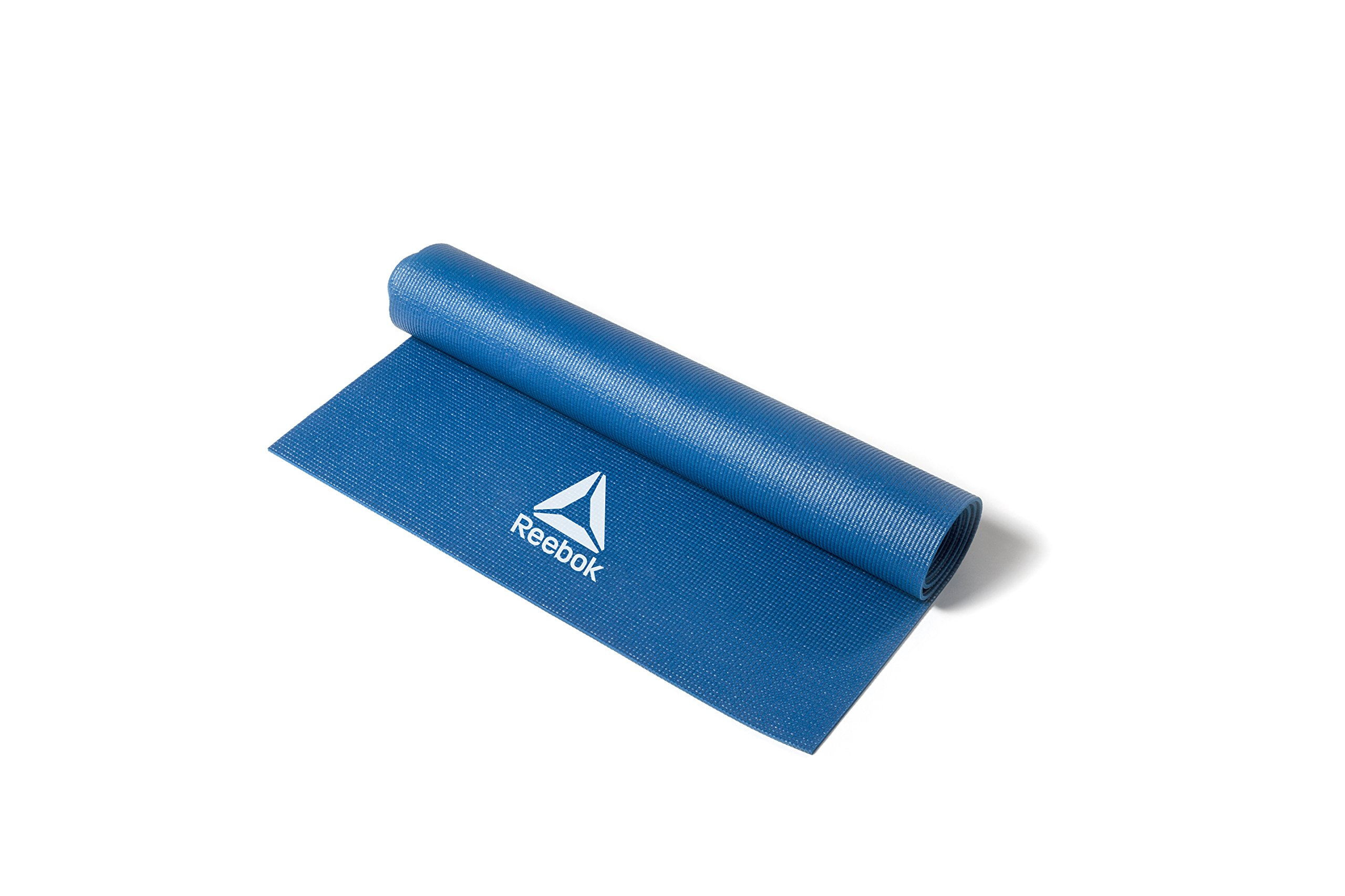 Reebok yoga mat 4mm Blue RAYG-11022BL [fitness training Pilates diet] by Reebok (Image #2)