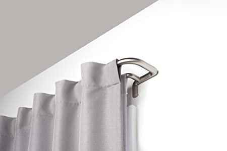 Umbra Double Curtain Rod Set Wrap Around Design Is Ideal For