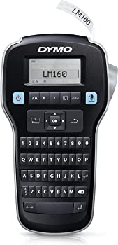 DYMO LabelManager 160 Portable Label Maker for Home & Office Organization