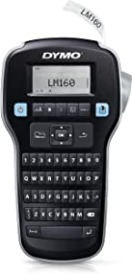 DYMO Label Maker | LabelManager 160 Portable Label Maker, Easy-to-Use, One-Touch Smart Keys, QWERTY Keyboard, Large Display, for Home & Office Organization
