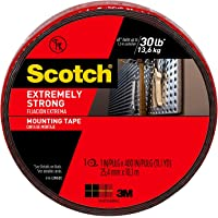 Scotch Extremely Strong Mounting Tape 2.5cm x 10.1m 414-LONG