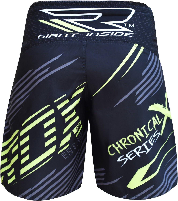 RDX MMA Pantalones Boxeo Corto Entrenamiento Muay Thai Shorts Running Fitness Kickboxing.