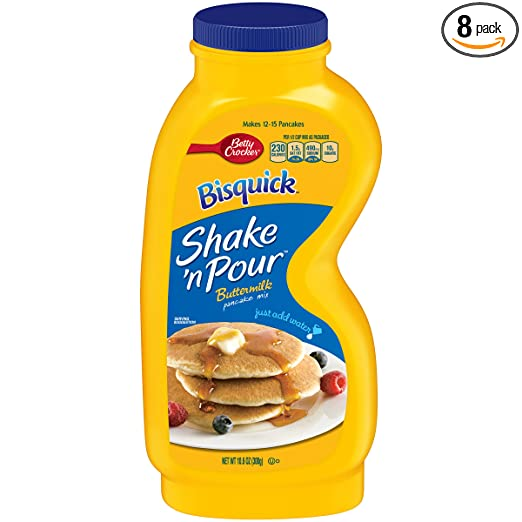 Amazon betty crocker bisquick baking mix shake n pour amazon betty crocker bisquick baking mix shake n pour pancake mix buttermilk 106 oz bottle pack of 8 pancake and waffle mixes grocery ccuart Image collections