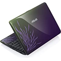 Asus EeePC 1001PQ 25,7 cm (10,1 Zoll) Netbook (Intel Atom N450, 1,6GHz, 1GB RAM, 160GB HDD, Intel GMA3150, Win7 Starter) purpur