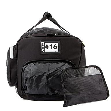 ABD Athlete S Space Saver Duffel Bag Black Neon Large