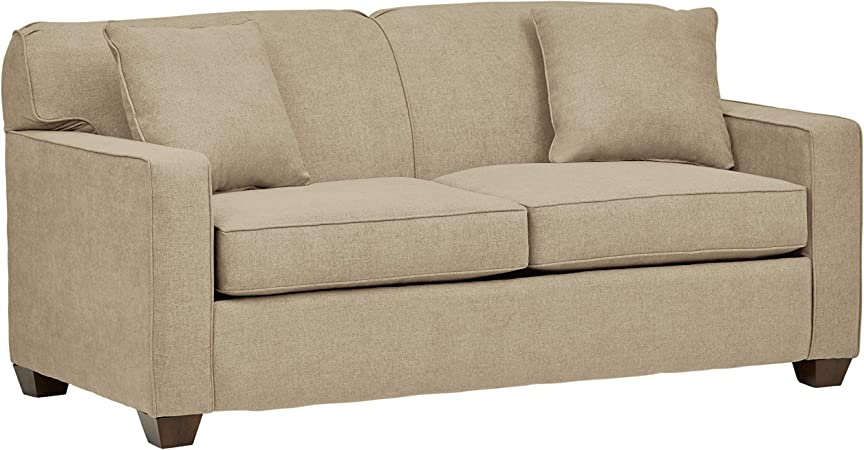 Amazon.com: Stone & Beam Fischer Full-Sized Sleeper Sofa, 72 ...