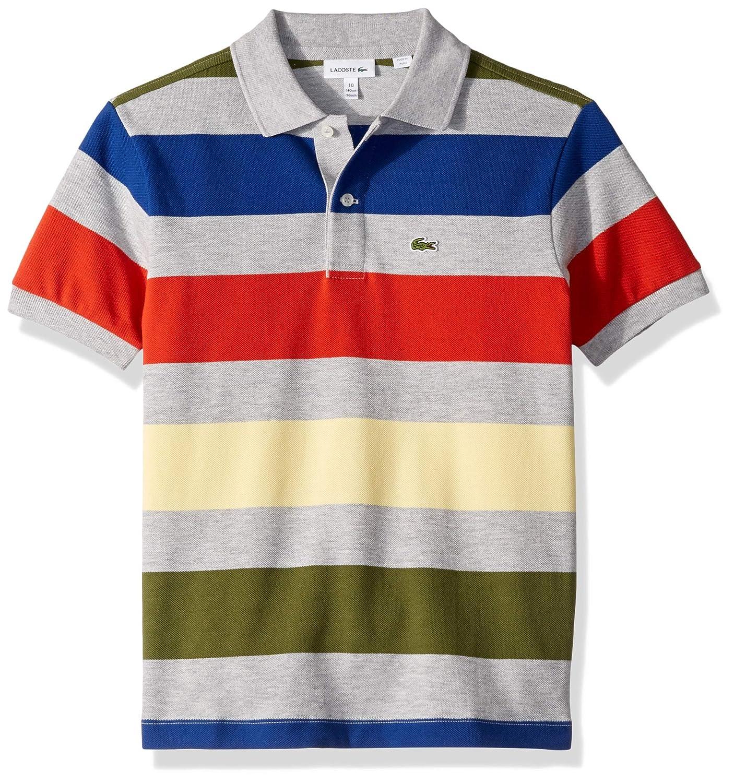 Lacoste Boy Colorful Striped Pique Polo PJ4516-51