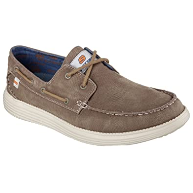 Mens Status-Melec Boat Shoes Skechers zIUIbJe