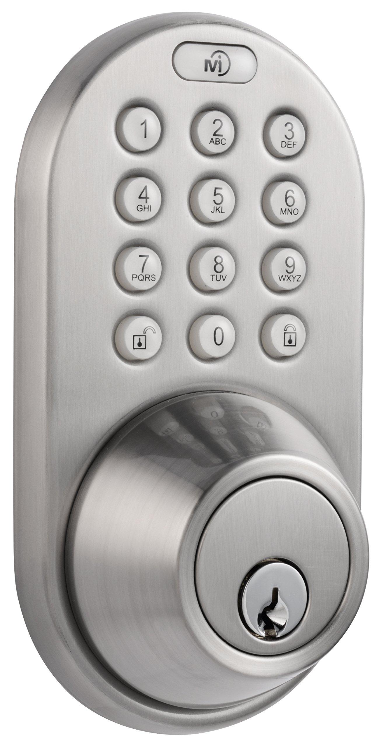 MiLocks DF-02SN Electronic Keyless Entry Touchpad Deadbolt Door Lock by MiLocks (Image #1)