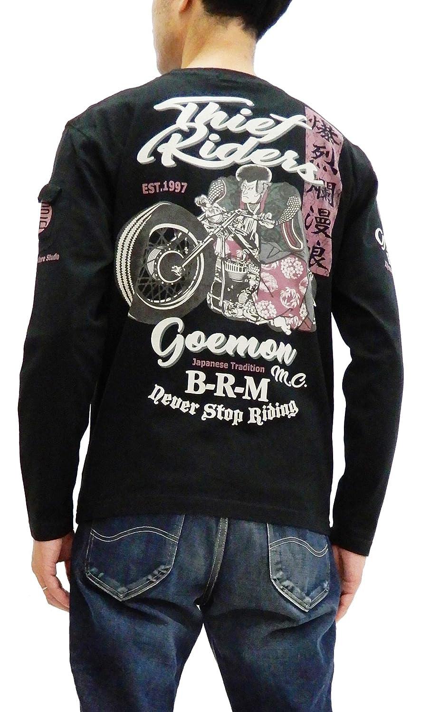 B-R-M T-Shirt Mens Japanese Style Long Sleeve Graphic Tee Efu-Shokai RMLT-287
