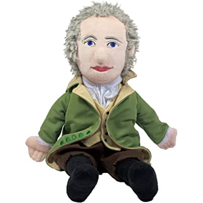 """The Unemployed Philosophers Guild Alexander Hamilton Little Thinker - 11"""" Plush Doll for Kids and Adults: Toys & Games"""