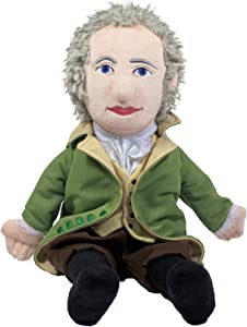 "The Unemployed Philosophers Guild Alexander Hamilton Little Thinker - 11"" Plush Doll for Kids and Adults"