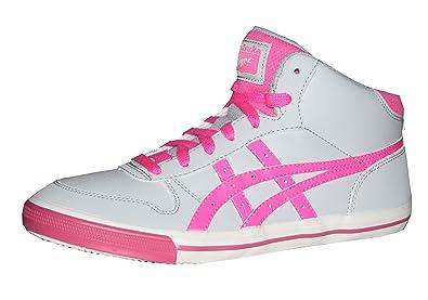 Aaron Mt GS, Damen Sneaker, Grau - Grau/Rosa - Größe: EU 36 Onitsuka Tiger