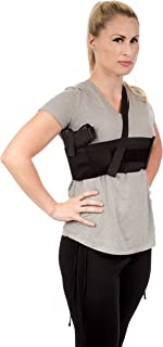 product image for CCW Tactical Shoulder Holster for Deep Concealment Underarm Gun Holster for Men and Women, Fits Most Handguns, Black