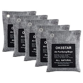 Amazon.com: OK5STAR - Bolsas de carbón de bambú para ...