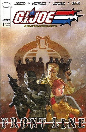 Amazon.com : G.I.Joe Frontline #1 Comic Book : Other Products ...