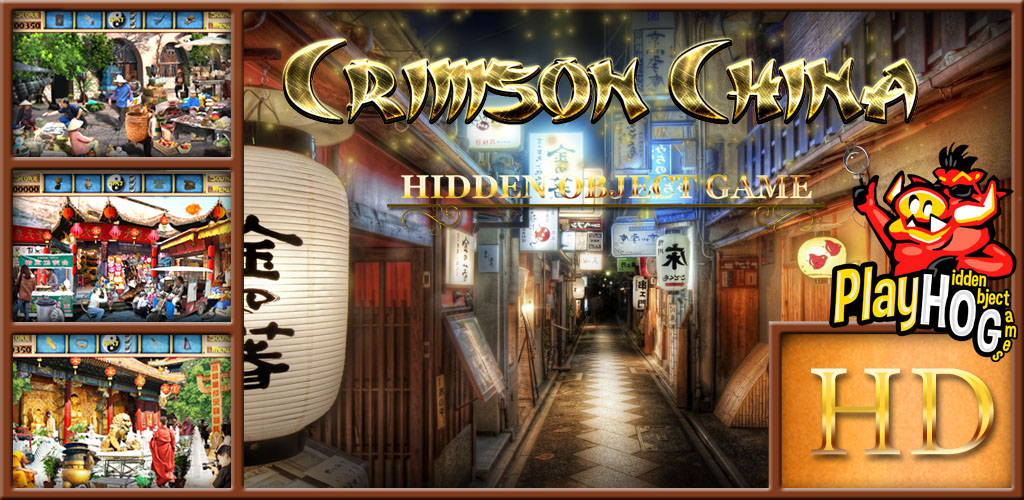 Crimson China - Find Hidden Object Game (Crimson Video Game)