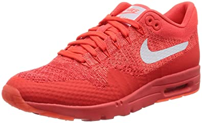 156bb9adc6 Nike W Air Max 1 Ultra Flyknit Women 's Sneaker Orange 843387 602, Size