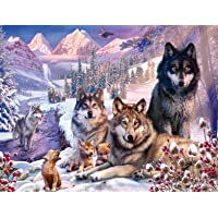 Ravensburger 16012 Wolves 2000 Piece Puzzle for Adults - Every Piece is Unique, Softclick Technology Means Pieces Fit…