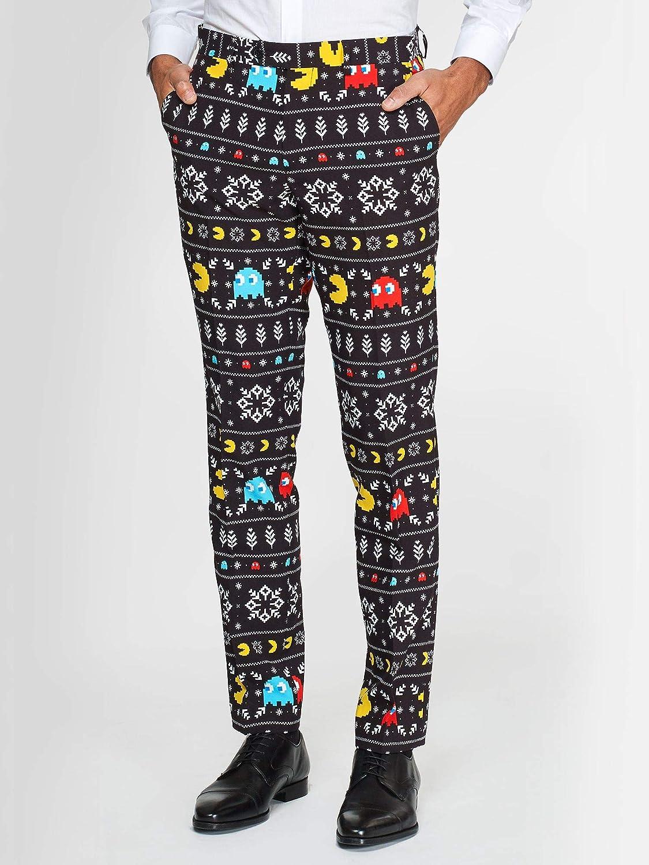 OppoSuits Winter Pac Man Suit Mens