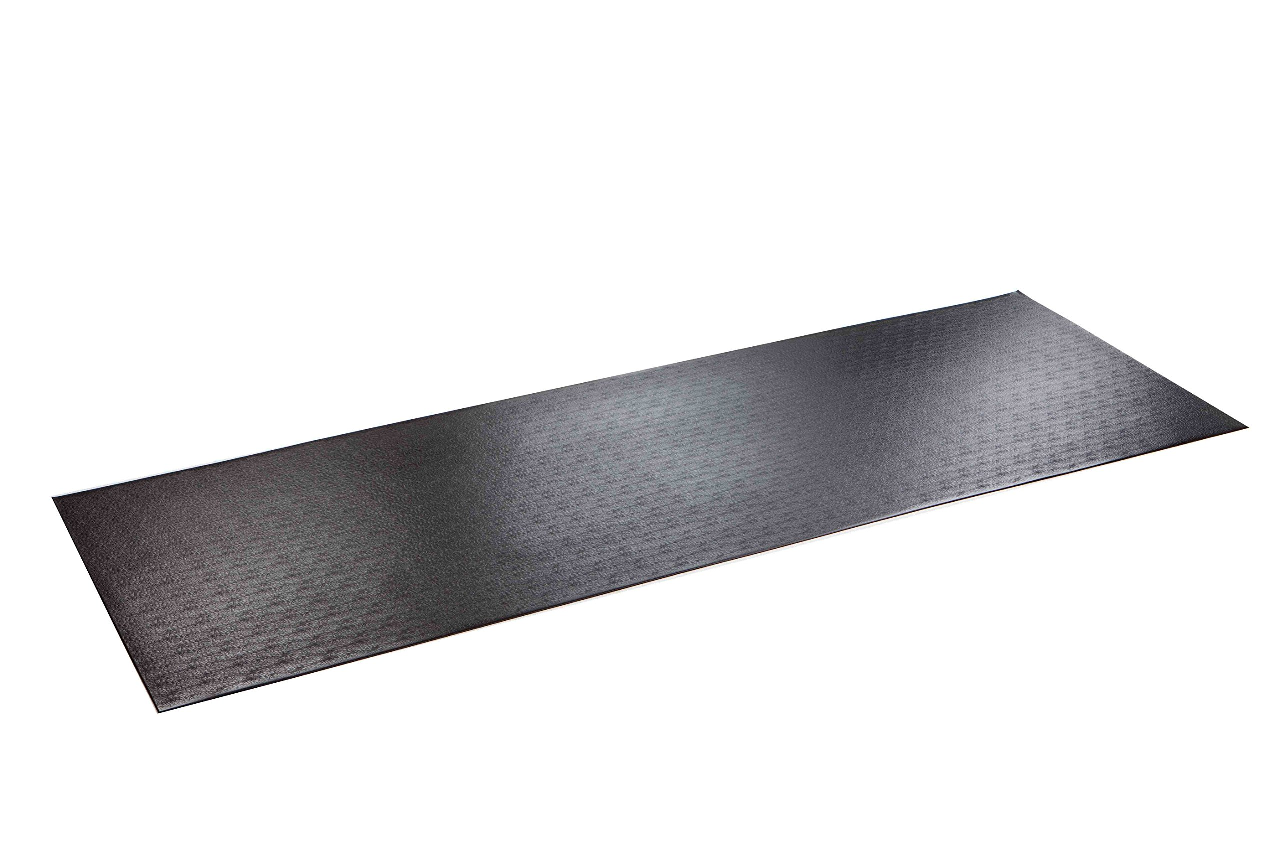 SuperMats High Density Commercial Grade Solid Equipment Mat 29GS Made in U.S.A. for Large Treadmills Ellipticals Rowers Water Rowing Machines Recumbent Bikes and Exercise Equipment  (3-Feet x 8.5-Feet) (36'' x 102'') (91.4 cm x 259.1 cm) by SuperMats