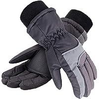 Simplicidad niños 3 m Thinsulate viento y la impermeabilidad nieve guantes de esquí.