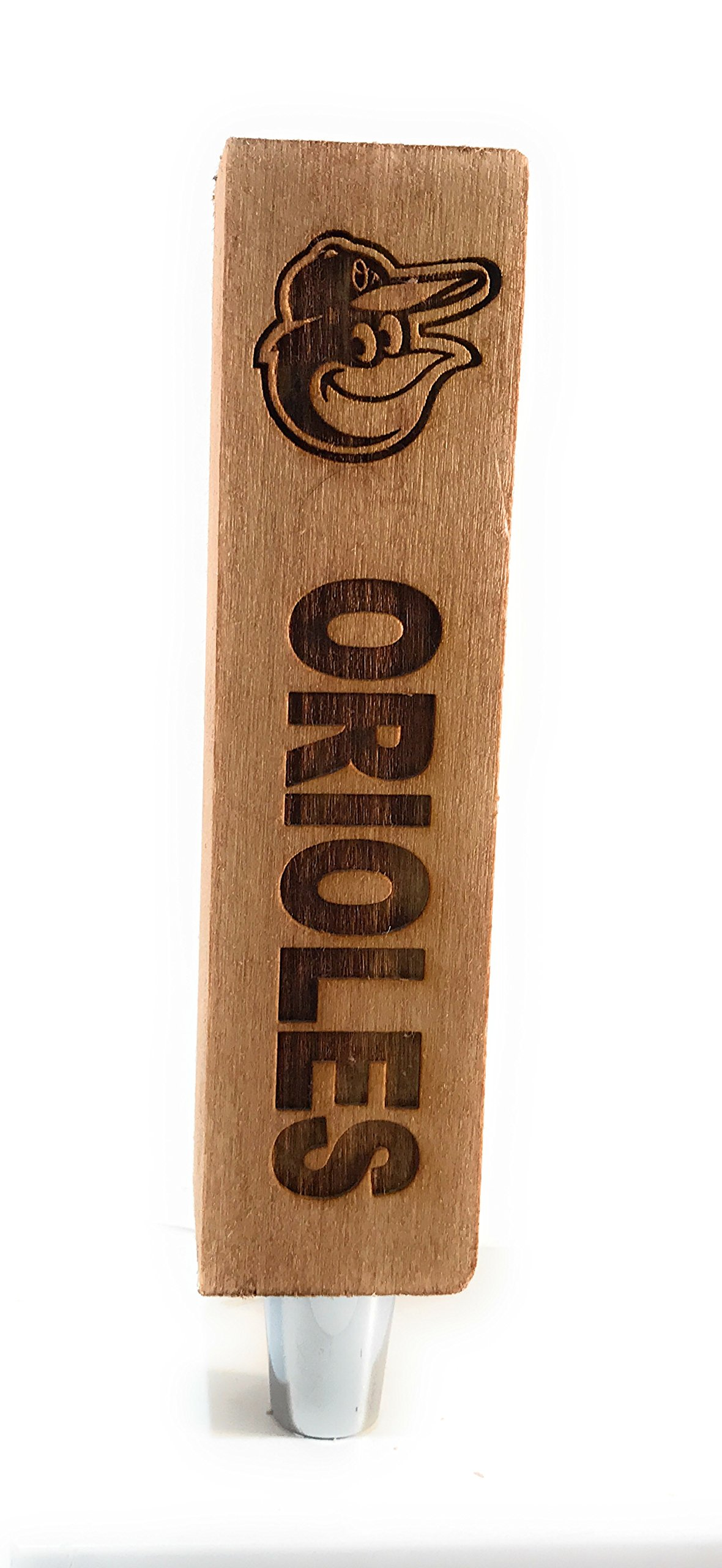 Baltimore Orioles Engraved Beer Tap Handles