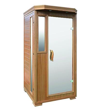 Häufig Amazon.com : Good Health Saunas 1 Person Signature Hemlock Wood JM37