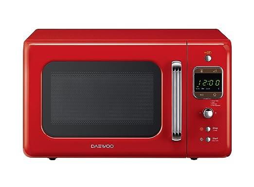 91 opinioni per Daewoo KOR-6LBR Forno a Microonde Digitale, Rosso, 20 lt