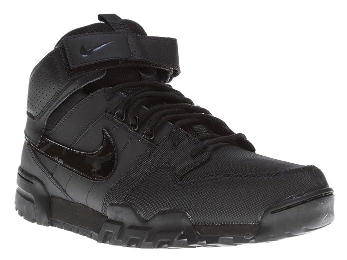 sale retailer d766b 93e29 Amazon.com   Nike Mogan Mid 2 OMS  535836-001 (11.5) Black   Skateboarding