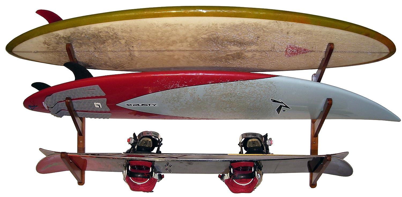 Amazon.com: Cor Surf - Soporte de pared para 3 tablas de ...