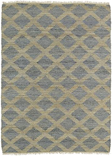 Kaleen Rugs Kenwood Collection KEN05-103 Slate Handmade 8 x 11 Rug