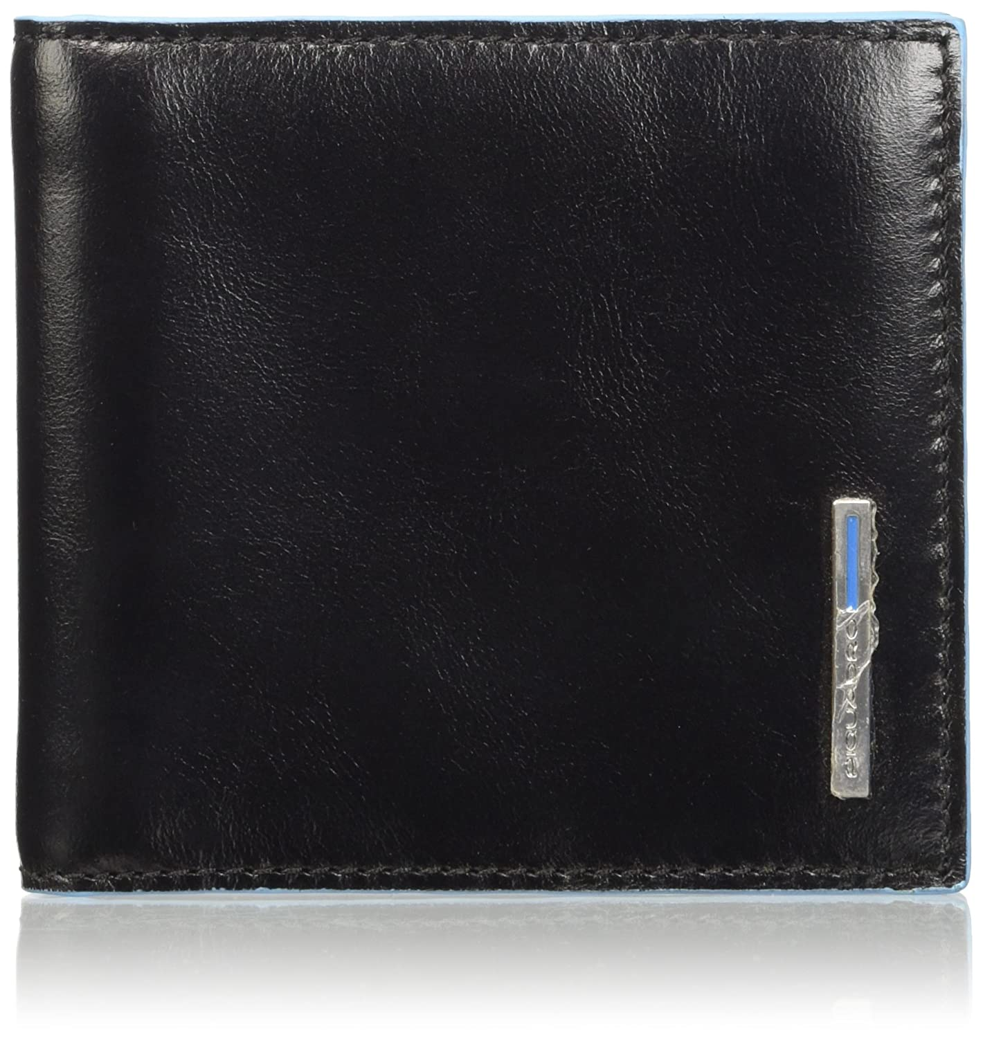 Piquadro Men's Wallet with Money Clip, Black, One Size Piquadro Luggage Child Code PU1666B2/N