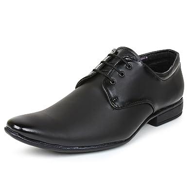 d03de082e BUWCH Men Black Formal Shoe  Buy Online at Low Prices in India ...