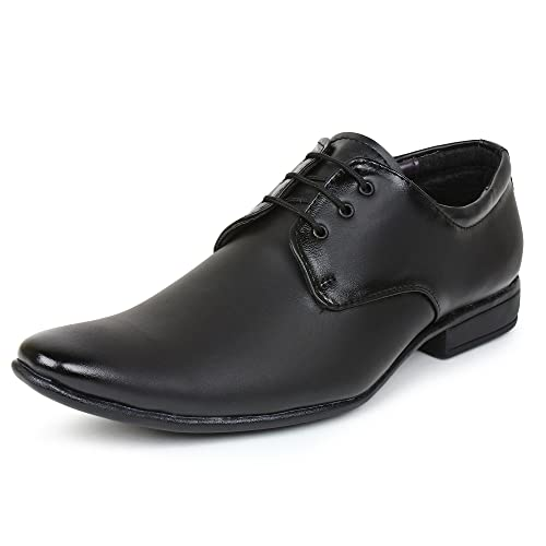 760650f2fc2 BUWCH Men Black Formal Shoes  Buy Online at Low Prices in India ...
