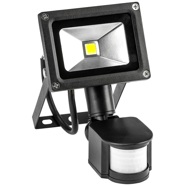 Levivo LED Flutlicht mit Bewegungsmelder [Energieklasse A] 331800000062