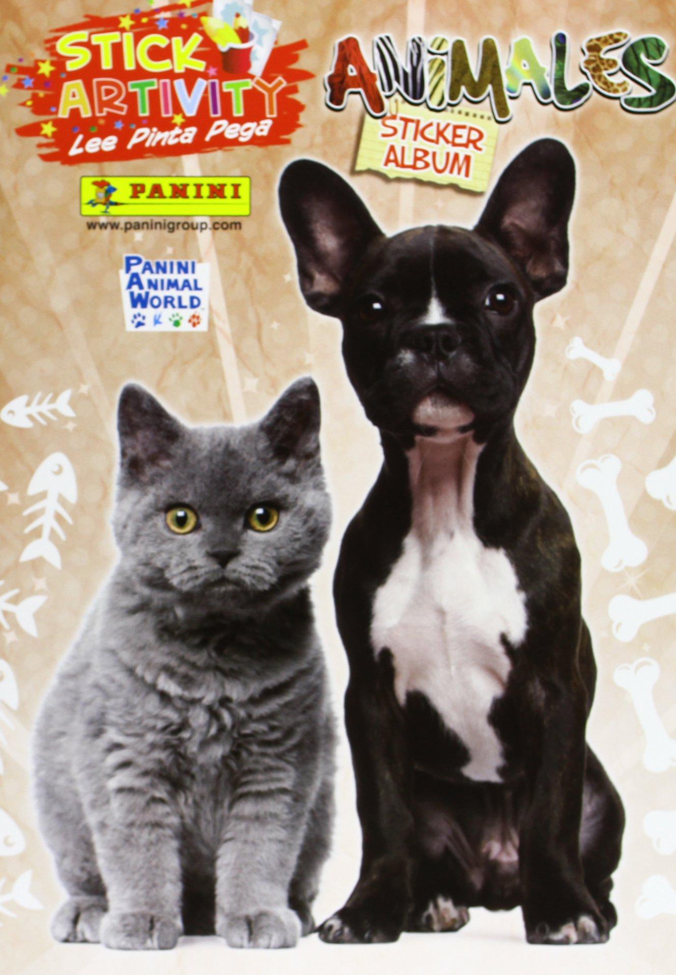ANIMALES PERROS Y GATOS (Spanish) Paperback