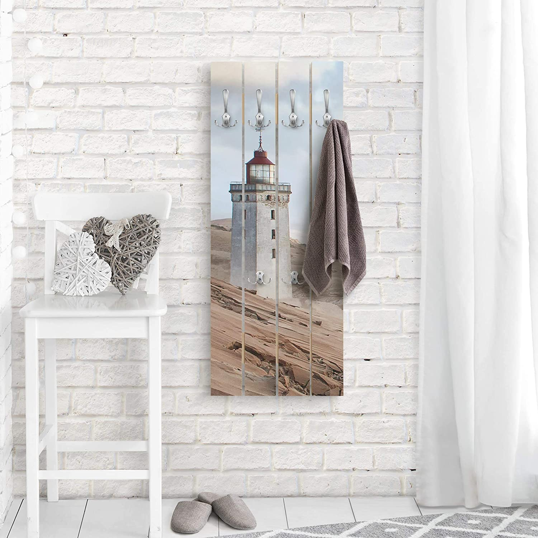 Bilderwelten Perchero de Madera - Lighthouse In Denmark ...